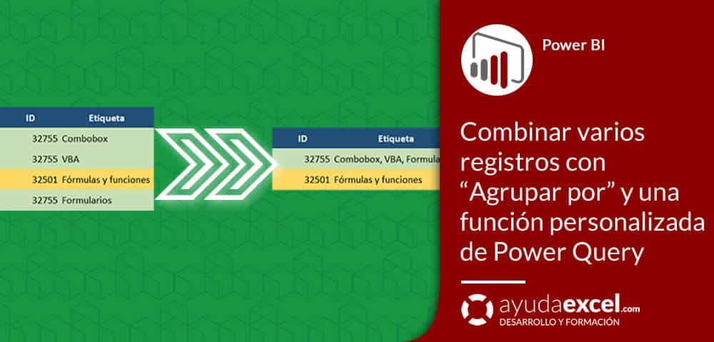Agrupar por Power Query