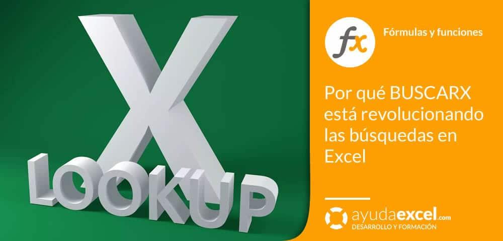 BUSCARX búsquedas Excel
